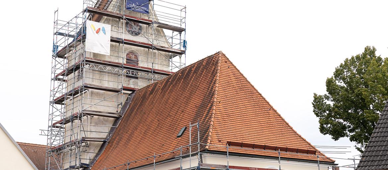 Renovierung der Nikolauskirche gestartet