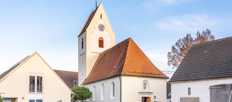 Nikolauskirche Nersingen renoviert